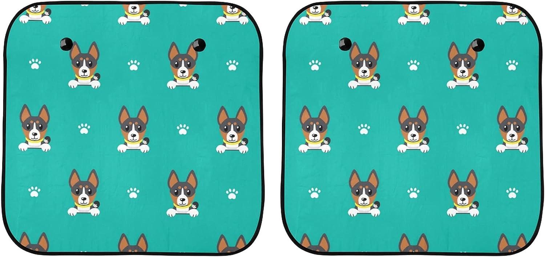 YPink Car Windshield Sun Cover Puppy Dog Animal Fashion Spasm Popular overseas price Wind
