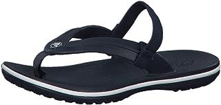 crocs Unisex's Crocband Strap Flip Flops