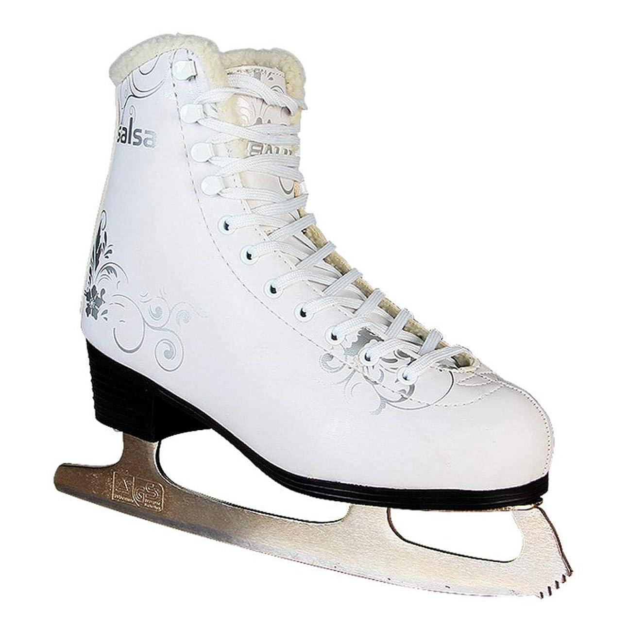 利得宙返り実験スケート フィギュアスケート シューズ キッズ?レディー?メンズサイズ アイススケート シンプル エレガントなデザインのスケートシューズ フィギュアスケートシューズ