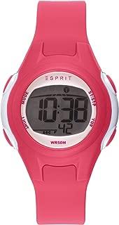 Esprit Girls' Digital Quartz Watch with Plastic Strap ES906474003