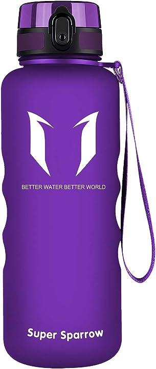 Super sparrow borraccia sportiva & bottiglia bambini senza perdite 350ml/500ml/750ml/1l, senza bpa X-Orchid-12oz