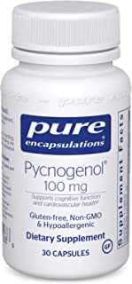 Pure Encapsulations - Pycnogenol 100 mg - Hypoallergenic Supplement to Promote Vascular Health and Provide Antioxidant Support* - 30 Capsules