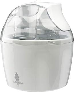 Machine à crème glacée Sensio Home - Machine à sorbet gelato et yaourt glacé à palette de mélange amovible - Facile à util...
