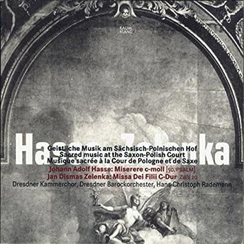 Hasse & Zelenka: Sacred Music at the Saxon-Polish Court