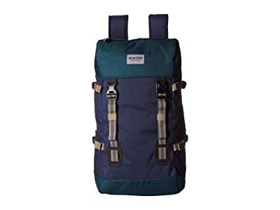 Burton Tinder 2.0 Backpack (Dress Blue Heather) Backpack Bags