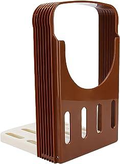 Trancheuse à Pain Trancheuses à Bagel Trancheuses Portable Amovible Parfait Coupe-Bagel Pain en Résine ABS de Qualité Alim...