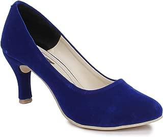 Sapatos Women Blue Kitten Heels