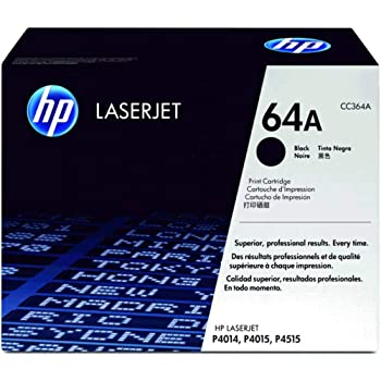 Smart Print Supplies Compatible 64X CC364X Black High Yield Premium Toner Cartridge Replacement for HP Laserjet P4014N P4015N P4015X P4515N P4515X Printers 2 Pack 24,000 Pages