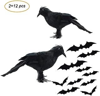 plastic crow