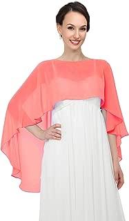 Shawls and Wraps for Evening Dresses Chiffon Wedding Capes Soft Shrugs
