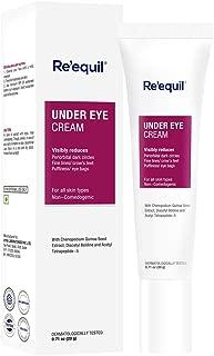 RE' EQUIL Under Eye Cream for Dark Circles, Wrinkles, Puffy Eyes - 20g
