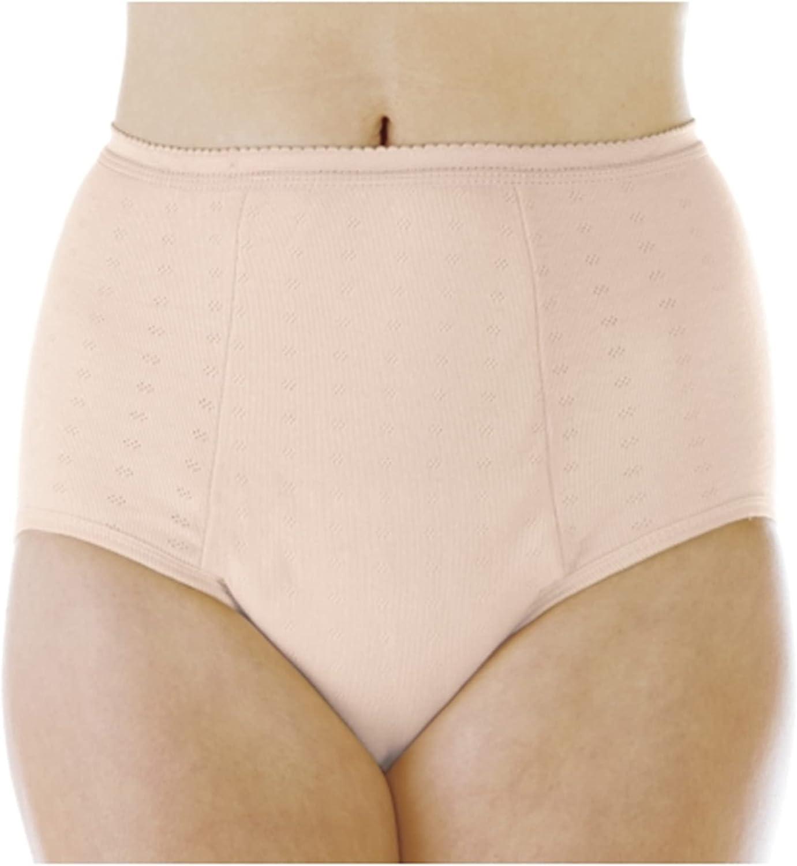 3-Pack Women's Super Sales Absorbency Incontinence Panties Beige Large Virginia Beach Mall