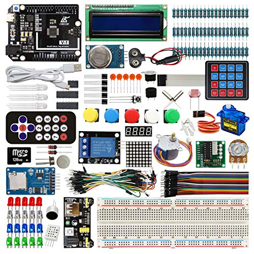LK COKOINO Complete Starter Kit for Arduino UNO Projects(with R3 Board and Detailed Tutorial), DIY Electronics Learning Kits for Children and Adults