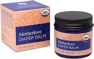 Motherlove Diaper Balm (1oz) Organic Diaper Cream—Zinc Oxide- & Petroleum-Free—Cloth Diaper Safe Ointment Soothes Diaper R...