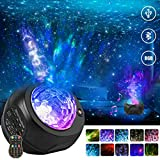 Star Projector Night Lights, HueLiv 3 in 1 Galaxy Projector Light, Sky Nebula/Moving Ocean Wave, Best Gift for Kids...