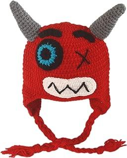 Generic Infant Todder Custom Crochet Monster Earflap Hats