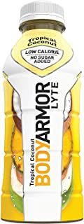 BODYARMOR LYTE Sports Drink Low-Calorie Sports Beverage, Tropical Coconut, Natural Flavors With Vitamins, Potassium-Packed...