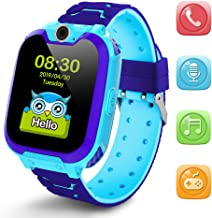 Kids Smartwatch Girls and Boys,Colorful Touch Screen Waterproof Smartwatch with Camera..