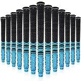 Kofull -Grips de Golf Grips para Palos de Golf (Fibra de Carbono, 13 Unidades), Azul Claro