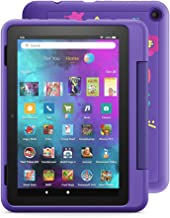 """Introducing Fire HD 8 Kids Pro tablet, 8"""" HD, ages 6–12, 32 GB, Doodle"""