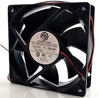 for Power Logic/Source Power PL13B48M 48V 0.17A 12038 12CM Double Beads Heat Dissipation Fan