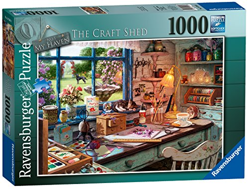 Ravensburger My Haven No 1. The Craft Schuppen Spielset Puzzle, 1000 Einzelteile