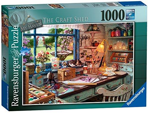 Ravensburger My Haven No 1. The Craft Schuppen Spielset Puzzle, 1000Einzelteile