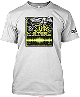 ernie ball slinky m-steel t shirt -size xl