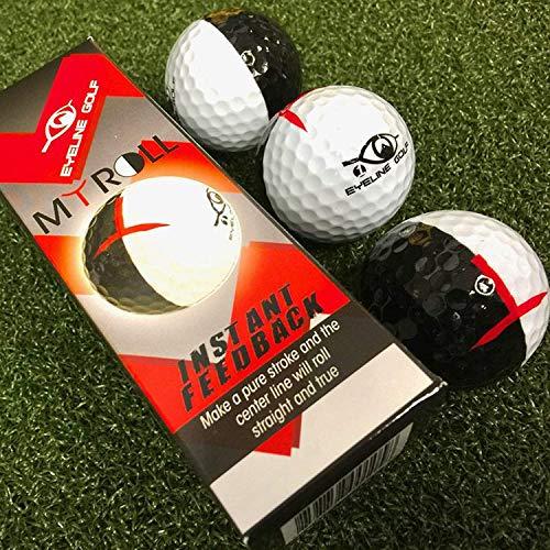Masters EyeLine 3-Pack MyRoll Training Balls 2 Colour 50/50