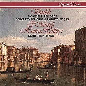 Vivaldi: 6 Concertos for Oboe & Strings