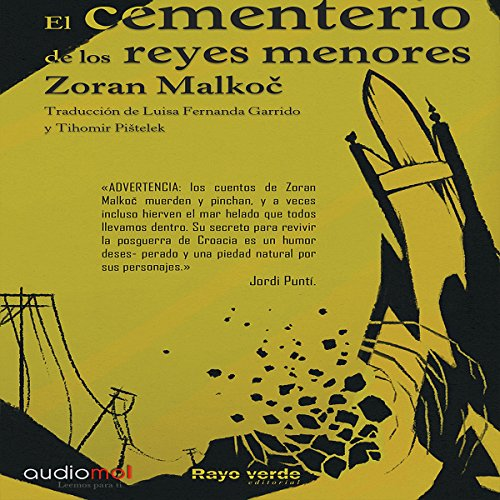 El cementerio de los reyes menores [The Cemetery of the Lesser Kings] audiobook cover art