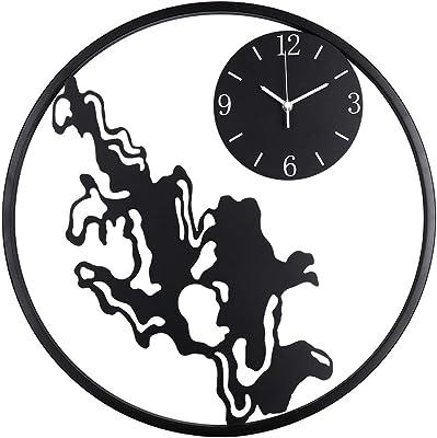 Wall Clock Household Accessories Wall Charts, Living Room Silent Quartz Clock