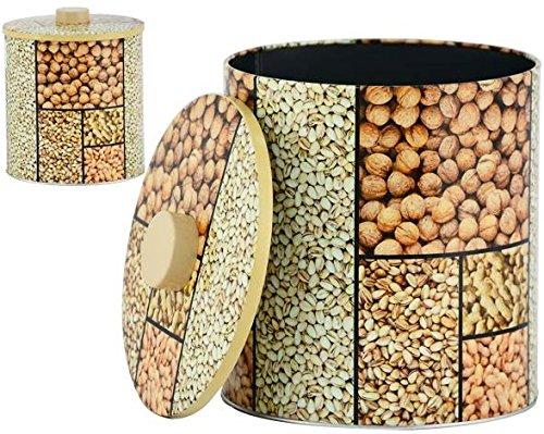 AVENUELAFAYETTE Boîte Pot métal Cuisine Fruits secs - 20 cm