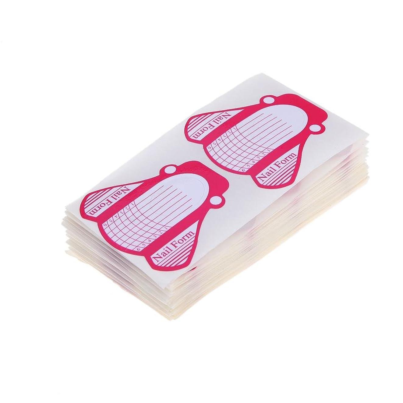 お香先のことを考えるシャベルHighplus 100 Nail Forms for Acrylic UV Gel Nail Art Tip Extension Brand New
