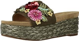 6f99abd5036 Sandalias y Chanclas para Mujer, Color Verde, Marca ALMA EN PENA, Modelo  Sandalias