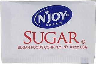 Njoy, SUG72101, N'Joy Sugar Packets, 2000 / Box