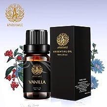 Aromatherapy Essential Oil Vanilla, Therapeutic Grade Vanilla Aromatherapy Essential Oil Fragrance, 100% Pure Vanilla Scent Essential Oil for Diffuser, Humidifier, Massage 0.33 oz - 10ml