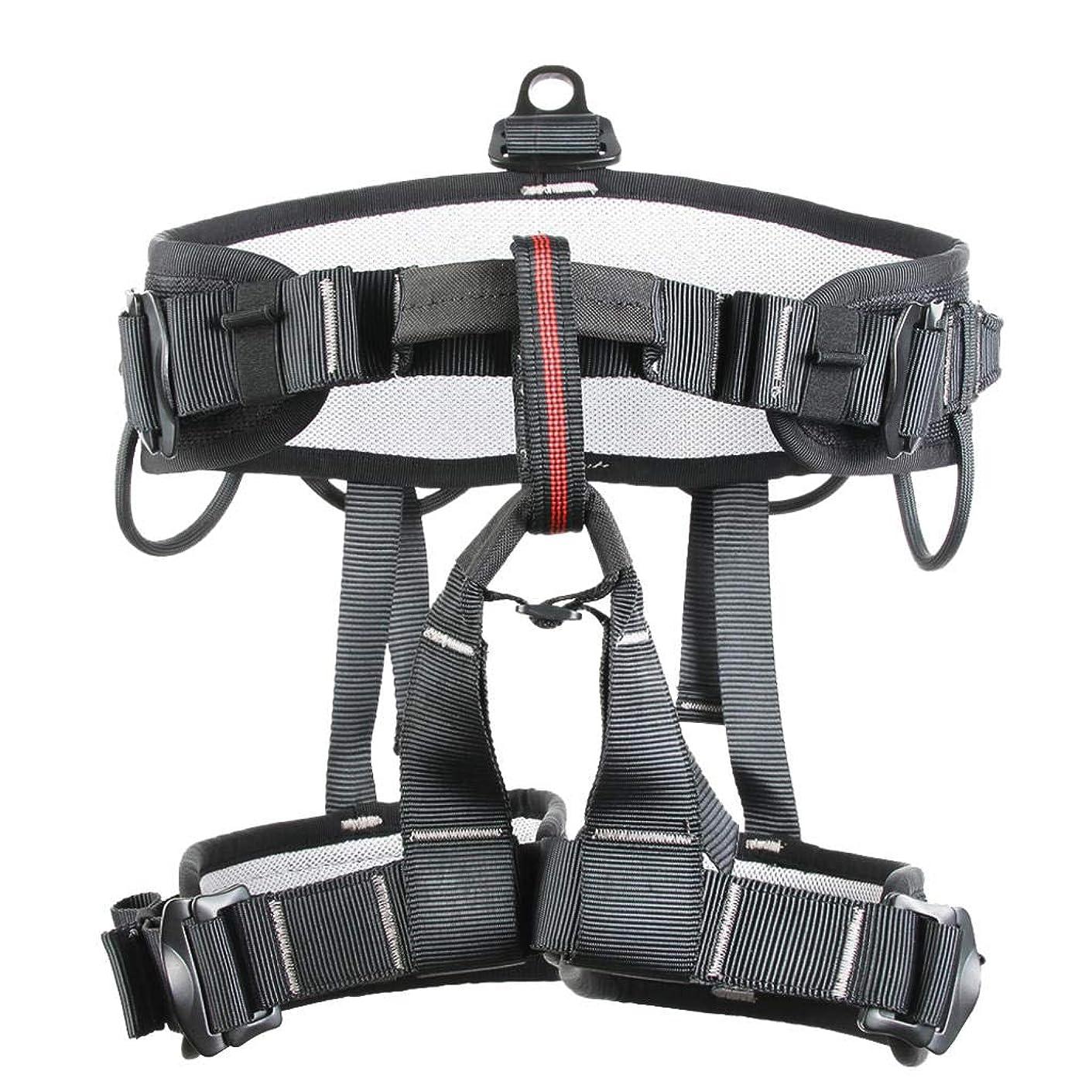 短くする機関車アルバニーROBAG 登山ハーネス アウトドア ハーフボディーケービング ラッピング拡張安全帯 空中作業安全帯 登山用具