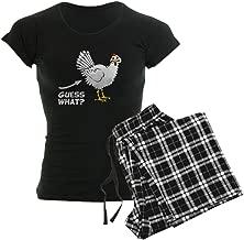 CafePress Guess What Chicken Butt Pajamas Women's PJs
