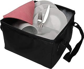 CARTREND 10732 utomhus hopfällbar skål 15 liter vikbar camping tvättskål, utrymmesbesparande, lätt alternativ till plastdi...