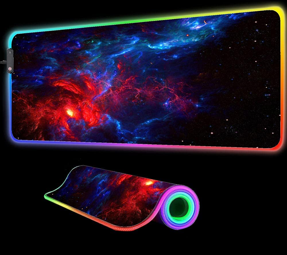 Mouse Pads Classic Galaxia Ideas Gaming RGB Animatio mart Large Pad LED