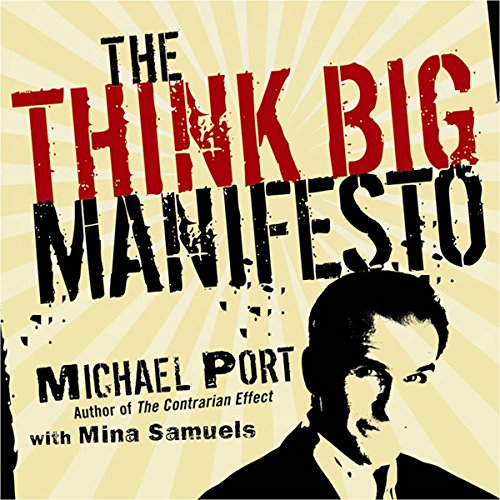 The Think Big Manifesto audiobook cover art