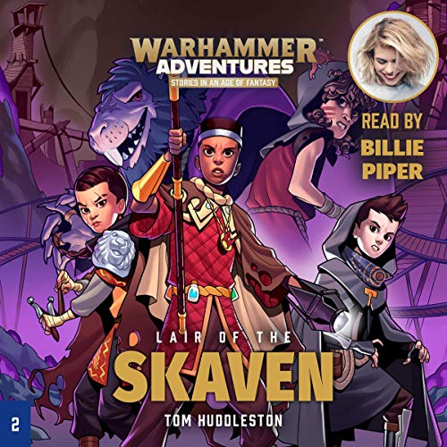 Warhammer Adventures: Lair of the Skaven audiobook cover art