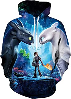 Hiccup Costume HTTYD Cosplay Jacket Halloween Hoodie Night Fury Toothless Pullover for Boys