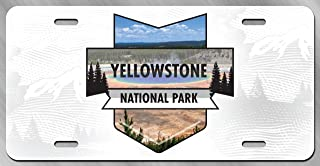 JFK BORN Yellowstone Dutton Ranch License Plate Decorative Car Front License Plate,Vanity Tag,Metal Car Plate,Aluminum Novelty License Plate,6 X 12 Inch