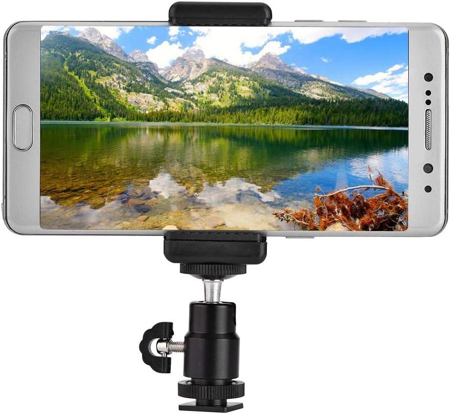 Phone Holder Bracket Tripod free Mount Adapter 360 Rotata with Degree Import