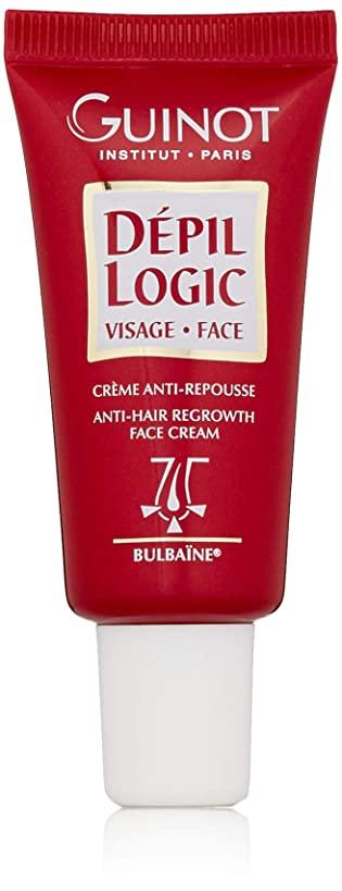 バター適合閲覧するギノー Depil Logic Anti-Hair Regrowth Face Cream 15ml/0.44oz並行輸入品