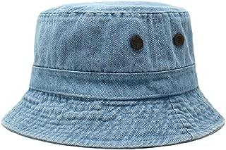 Cotton Bucket Hats (Unisex) Wide Brim Outdoor Summer Cap | Hiking, Beach, Sports