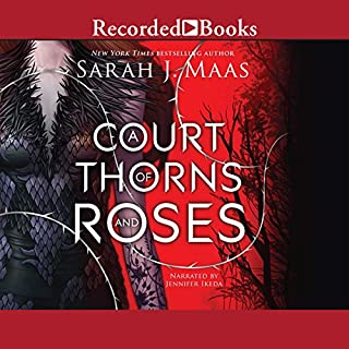 A Court of Thorns and Roses                   Written by:                                                                                                                                 Sarah J. Maas                               Narrated by:                                                                                                                                 Jennifer Ikeda                      Length: 16 hrs and 7 mins     256 ratings     Overall 4.5