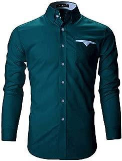 FINIVO FASHION Men's Cotton Casual Shirt